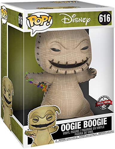 Funko- Pop Disney: Nightmare Before Christmas-10 Oogie Boogie Figura Coleccionable, Multicolor (43799)
