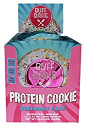 Buff Bake Birthday Cake Flavor Protein Cookies - 12 Count Package