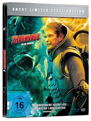 Sharknado 4: The 4th Awakens - Limited Steel Edition limitiert auf 1.000 Stück, durchnummeriert (+ DVD) [Blu-ray]