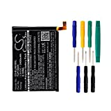 BLU TLP15025 Battery - Replacement for BLU Life One 2015, X010Q Battery ( 2400mAh, 3.8V, Li-Polymer ) with tools kit