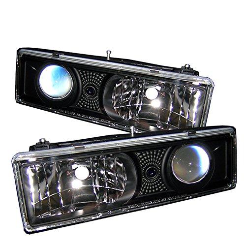 Spyder Auto PRO-YD-CCK88-BK Chevy C/K Series 1500/2500/3500/Chevy Tahoe Black Projector Headlight New Jersey