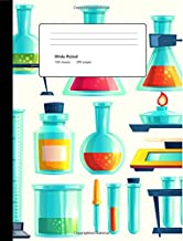 Composition Notebook: Science,Composition Lab Notebok, Wide Ruled: 100 sheets / 200 pages, 9-3/4