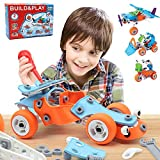 132 PCS STEM Learning Toys  Education Engineering and DIY STEM Construction Kit  Best Building Set for 6 7 8 9 10+ Year Olds Boys & Girls That Love to Build  Creative Stem Gift Play Set for Kids