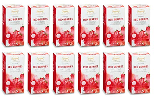 Ronnefeldt Teavelope® Red Berries, 12 x 25 Teebeutel, 12er Pack, 750 g