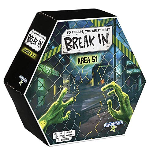 Break in - Area 51 -- to Escape, You Must First... Break in! -- Unfold The Layers of The Box and The Story as You Race to Escape