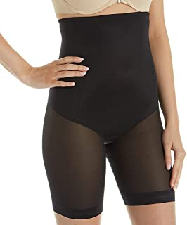 RIBIKA pour Homme Noir Short Minceur Taille Haute contr/ôle Ventre de Compression Shaper Pantalon