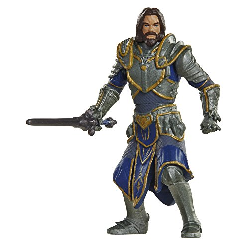 Warcraft Mini Lothar & Horde Warrior Action Figures (2 Pack)