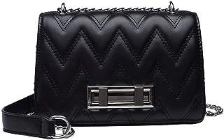 Wanmxinein Women Bags Luxury Handbags Women Messenger Bags Classic Bag Girls Fashion Shoulder Bag Ladies PU Leather Handba...