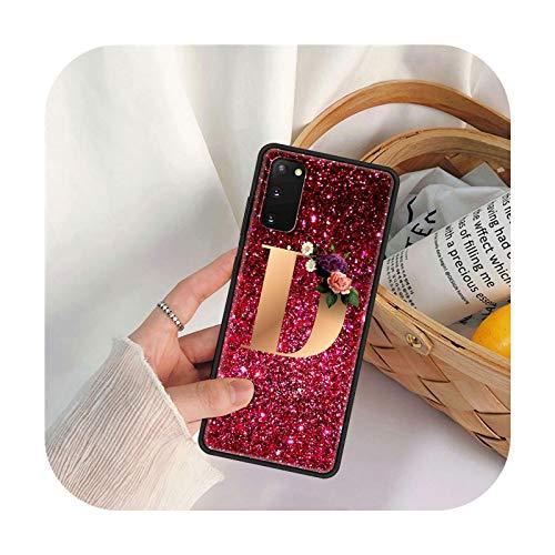 Phone Cover Para Samsung Galaxy S20 FE S21 S10 S8 S9 S10e Note 20 Ultra 10 Plus 9 8 Funda suave para móvil Lindo Fashion Letter-B11-para Samsung S8 Plus