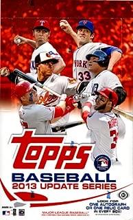 2013 topps baseball hobby box