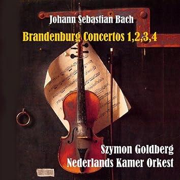 Bach: Brandenburg Concertos 1,2,3,4