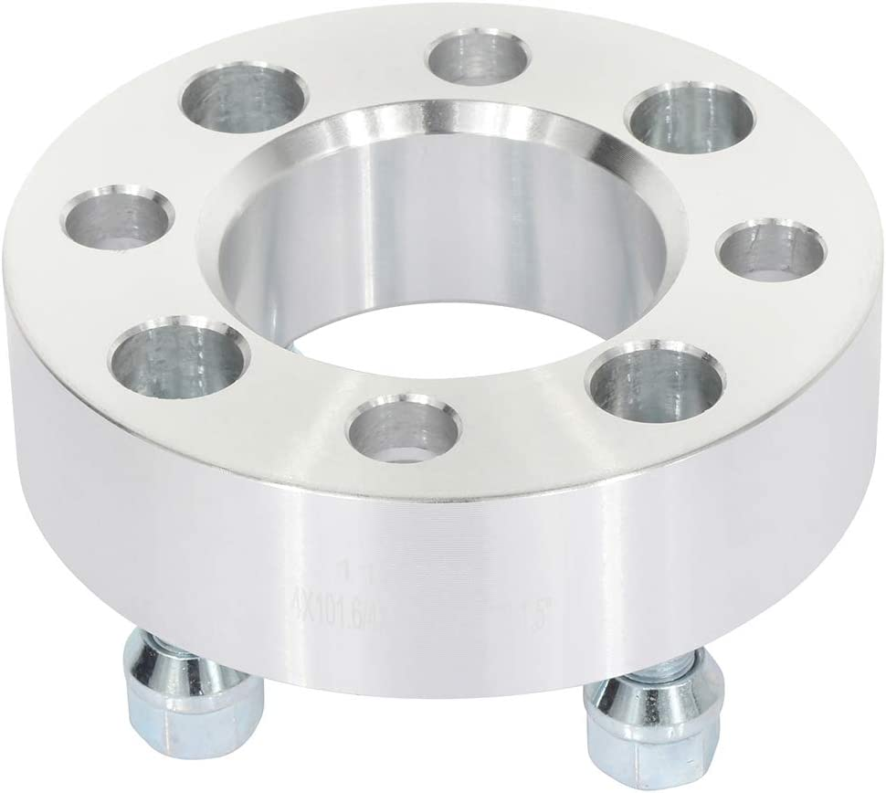 AUTOMUTO 2set 4x101.6mm 1.5 inch Seasonal Wrap Introduction Wheel 4 adapters Spacers Max 60% OFF 12 Lug