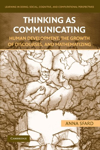 Thinking As Communicating (Learning in Doing: Social, Cognitive and Computational Perspectives)