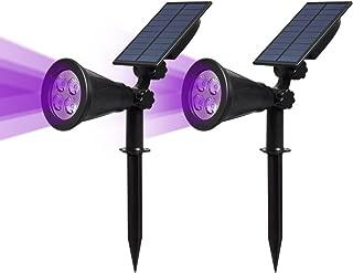 solar powered black light