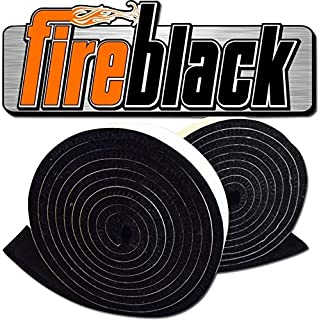 FireBlack 125 Black Nomex Self Stick Replacement Big Green Egg Gasket High Temp..