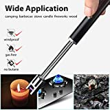 Electric Arc Lighter,Flameless Windproof USB Rechargeable Lighter for Home Kitchen,BBQ, Camping and Fireplaces