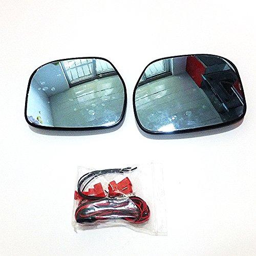 July King Objectif de rétroviseur Lens-H-City-2010 pour City 2009~2013, Grand Champ de Vision, Miroir Bleu, Tournage, Démontage de Chaleur