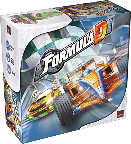 フォーミュラD (Formula D) ボードゲーム