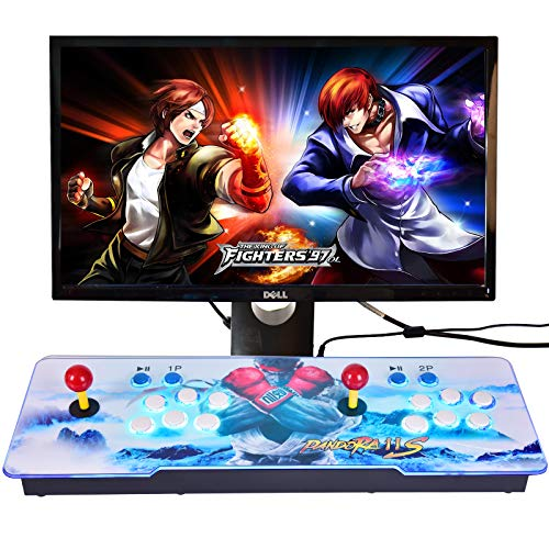 CLIENSY Arcade Video Game Console, 4260 in 1 Full HD 3D Games Pandora's Box 7 2 Players Retro Games Controls, Multiplayer Joystick Buttons Classic Video Game, Newest System,Support HDMI/VGA/USB Output