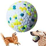 Interaktives Hundespielzeug Ball,Hundespielzeug Unzerstörbar Ball,Hundespielball,Gummibälle für Hunde,Hundeball für Große und Kleine Hunde (Grün)