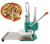 INTBUYING 9.5inch Manual Pizza Dough Press Machine Pastry Press Premade Pizza Dough Pizza Presser