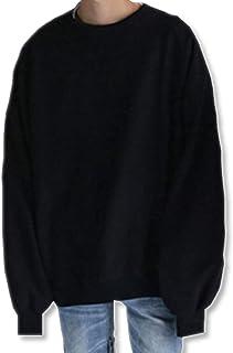[イーグルハート] ビッグ シルエット トレーナー メンズ 長袖 ゆったり トップス スウェット プルオーバー EH076