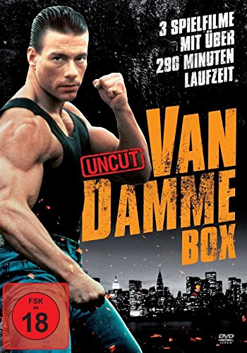 Van Damme Action-Box (3 Filme-Uncut-Edition)