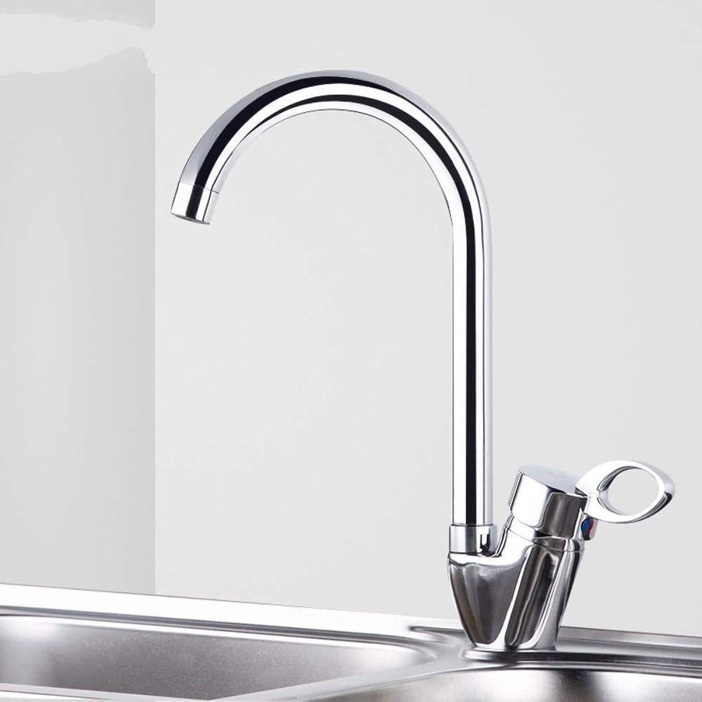 Basin Taps Swivel Spout Faucet Copper Hot and Cold Faucet Bathroom Hot and Cold Kitchen Faucet Sink Faucet