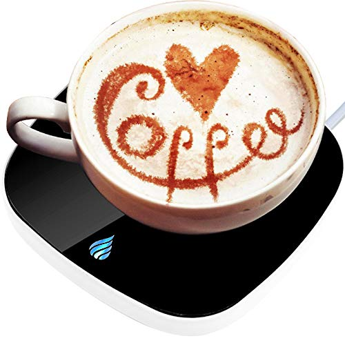 Coffee Mug Warmer, Coffee Warmer for Desk,Auto Shut On/Off Beverage Warmers Plate Electric Gravity Smart Cup Warmer Pad