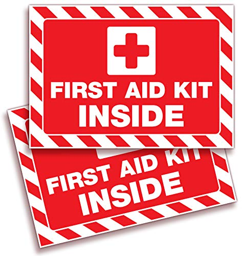 First Aid Kit Inside Signs Stickers for Home, Schools  Maryland