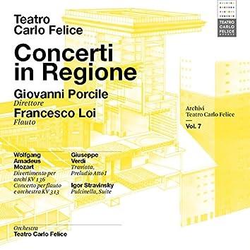 Archivi del Teatro Carlo Felice, vol. 7; Concerti in Regione, Giovanni POrcile & Francesco Loi interpretano Mozart, Verdi, Debussy & Stravinskij