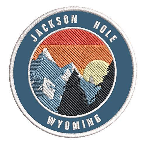Jackson Hole, Wyoming Ski Restort Mountain Embroidered Premium Patch DIY...
