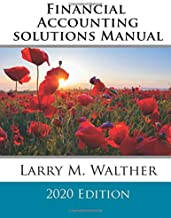 Financial Accounting Solutions Manual 2020 Edition