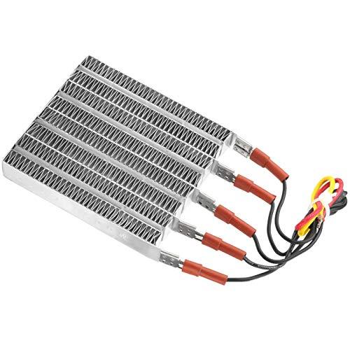 Calentador de aire de cerámica, elemento calefactor de aire de cerámica, estable automático a temperatura constante para aire acondicionado para calentador eléctrico(With lead)