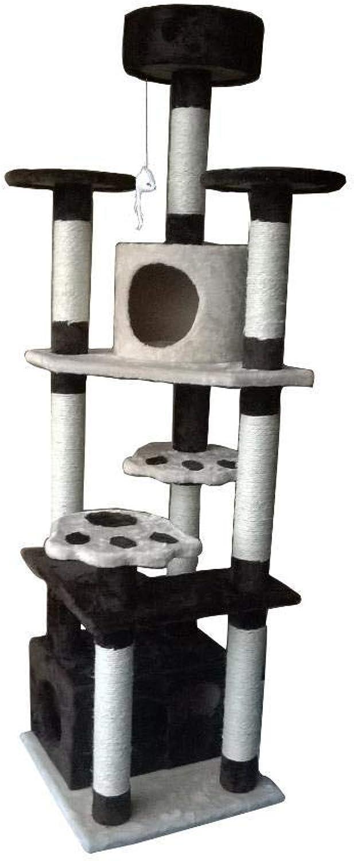 Hexiansheng Cat Climb Trees Cat tree big box wealthy Zhejiang Wei Guest pet Supplies 50  50  183cm