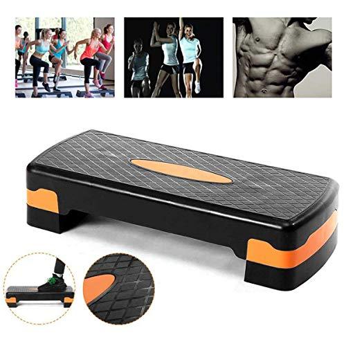 GXLO Cardio Yoga Pedal Stepper Material Aerobic-Stepper Platform PP Einstellbare Stufenhöhe Fitness Board Indoor Sport Aerobic Ausrüstung 68x28x15cm