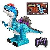 Dinoera Kids Dinosaur Toys for 5 6 7 8 9 10+ Year Old Boys - Remote Control Dinosaur Toys for Kids 5-7 Educational Jurassic World Dinosaur Robot w/ Lights Sounds Birthday Gifts for Boys Girls Age 4-8