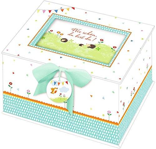 Baby-Schatzkästchen – Wie schön, du bist da!