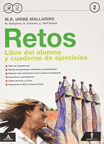 Retos. Con Palabras vivas. Per la Scuola media. Con e-book. Con espansione online: 2