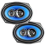 QPower (2) 6x9' 700 Watt 3-Way Car Audio Stereo Coaxial Speakers Pair   QP693