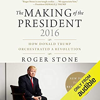 The Making of the President 2016 audiobook cover art