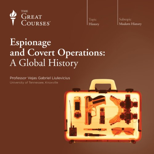 Espionage and Covert Operations: A Global History audiobook cover art