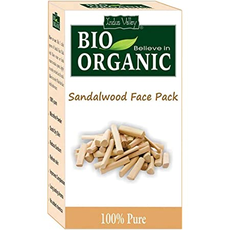Indus Valley 100% Organic Sandalwood Face Pack