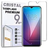 REY Protector de Pantalla para ZTE Blade 20 Pro, Cristal Vidrio Templado Premium