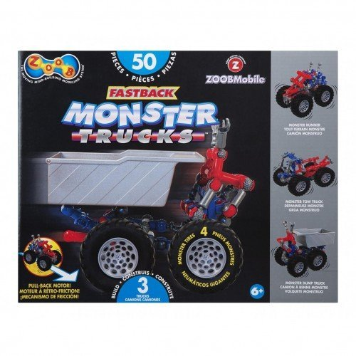 Zoob - 27138 - Blocs de construction - Fastback Monster Trucks