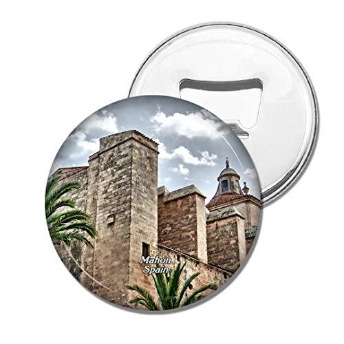 Weekino Spanien Festung von Elizabeth II Mahon Bier Flaschenöffner Kühlschrank Magnet Metall Souvenir Reise Gift