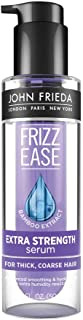 John Frieda Frizz Ease Extra Strength Serum, 1.69 Ounce Nourishing Treatment for Thick, Coarse Hair, featuring Bamboo Extract and provides Salon-caliber Smoothing