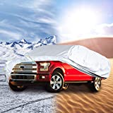 Pickup Truck Cover for F-150 F-250 Super Crew Cab 5.5Ft Short Bed Custom Fit Heavy Duty All Weather Waterproof Pickup Truck Protection(Fit Up to 236')