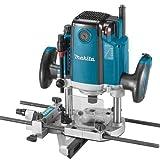 Makita RP2300FCX Fresadora Electronica De Superficie 2300W 9000-22000 RPM Pinza 12 Mm 6.1 Kg 2.3 W, Azul 0