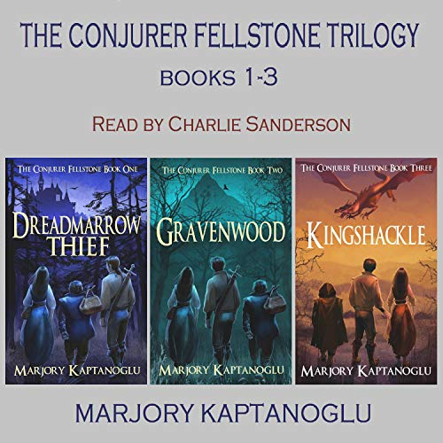 The Conjurer Fellstone Trilogy cover art